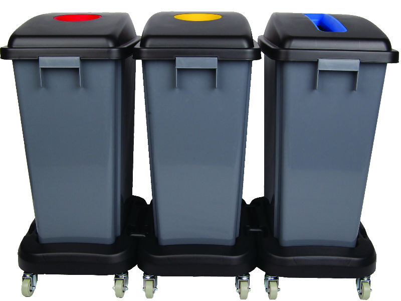Recycling Dolly Bins Complete Kit